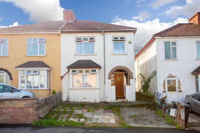 Thumbnail Semi-detached house for sale in Park Place, Eastville, Bristol
