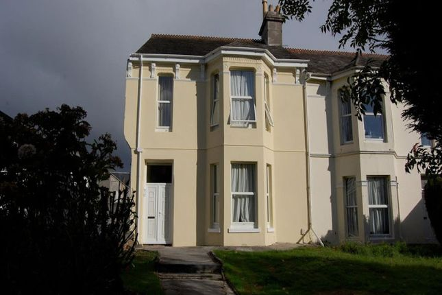 Thumbnail Terraced house to rent in Lisson Grove, Plymouth