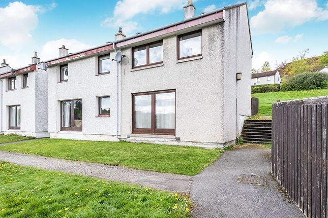 Thumbnail Semi-detached house for sale in Strathpeffer, Strathpeffer, Ross-Shire