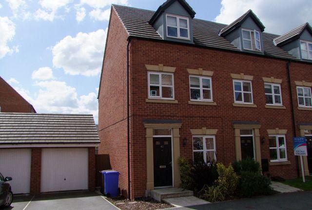Thumbnail Semi-detached house to rent in Blakeholme Court, Burton-On-Trent