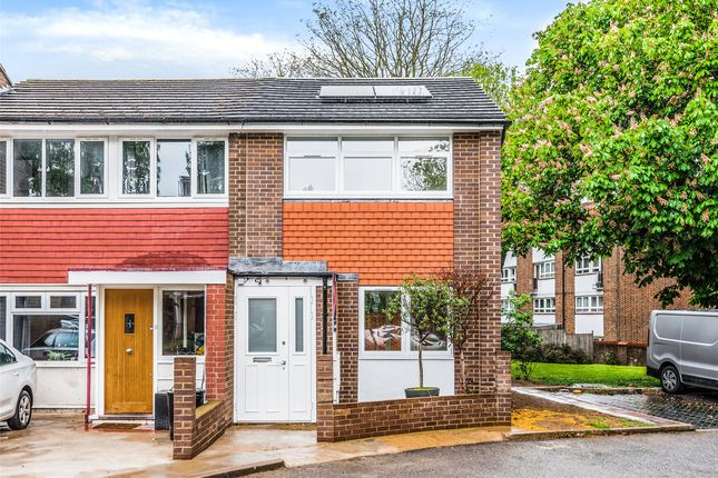 2 bed end terrace house for sale in Southmead Road, London SW19