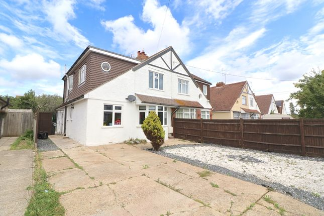 Thumbnail Semi-detached house for sale in Broad Road, Eastbourne