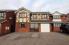 5 bed detached house to rent in Bordeaux Close, Dudley DY1