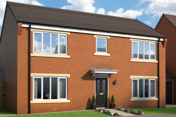 "Thumbnail Property for sale in ""The Malham At Metropolitan"" at Berrington Drive, Westerhope, Newcastle Upon Tyne"