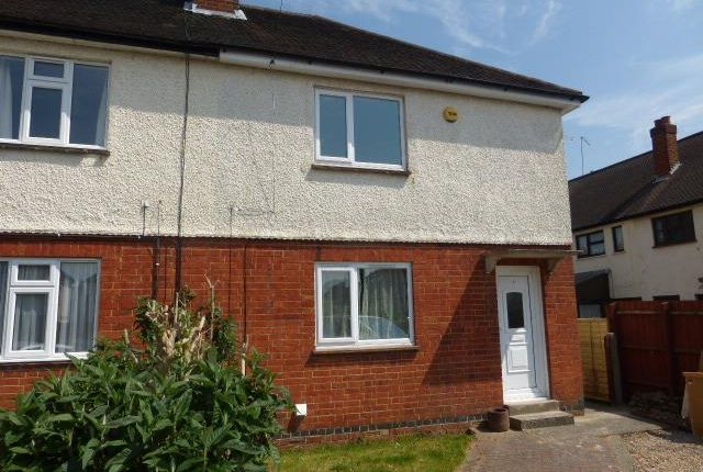 Thumbnail End terrace house to rent in The Crescent, Rothwell, Kettering