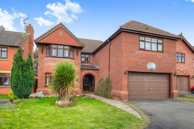 Thumbnail Detached house for sale in Prospero Drive, Heathcote, Warwick