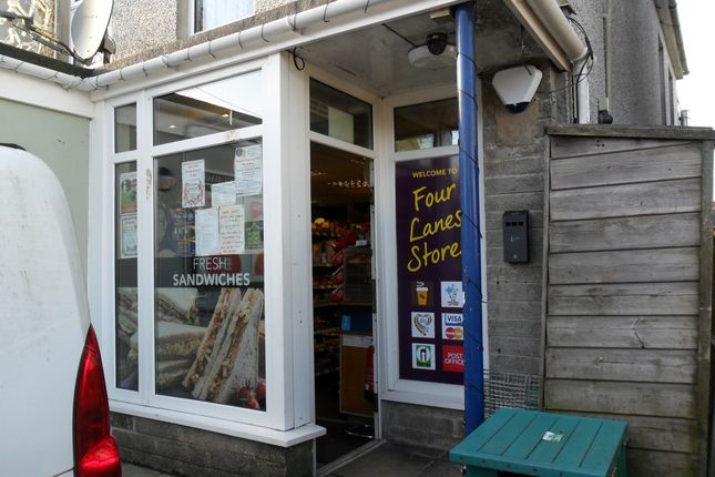 Thumbnail Retail premises for sale in Redruth, Cornwall