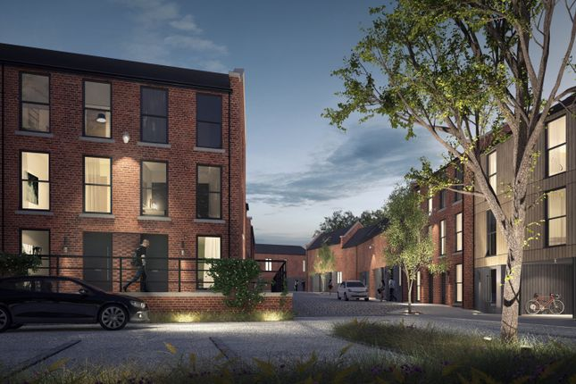 Thumbnail Town house for sale in Houldsworth Street, Reddish