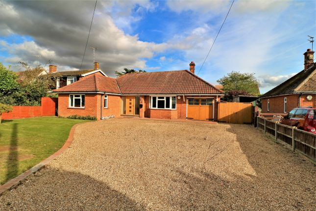 Thumbnail Detached bungalow for sale in Church Road, Elmstead, Colchester, Essex