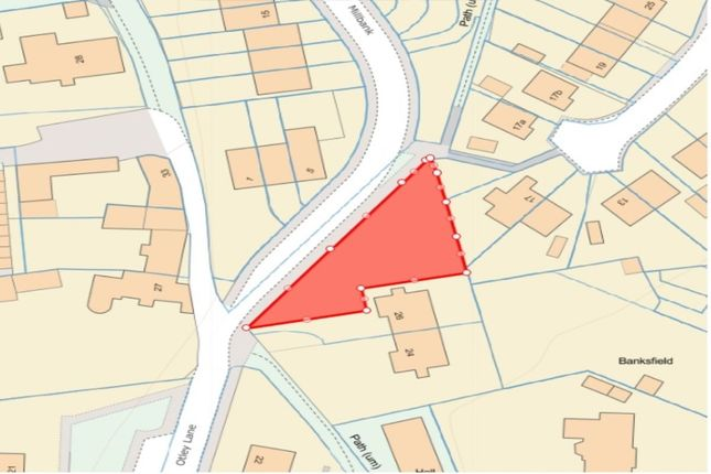 Thumbnail Land for sale in Land At Otley Lane, Yeadon, Leeds