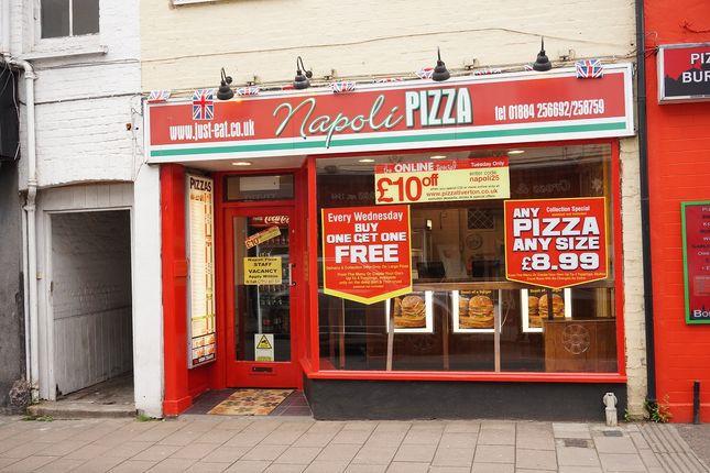 Restaurant/cafe for sale in Bampton Street, Tiverton, Devon