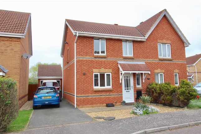 3 bed semi-detached house for sale in Wildflower Way, Bedford