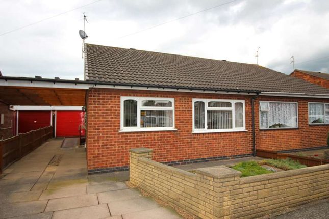 Thumbnail Semi-detached bungalow for sale in Christopher Drive, Thurmaston, Leicester, Leicestershire
