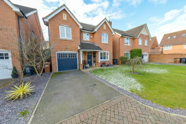 Thumbnail Detached house for sale in Orchid Close, Hatfield