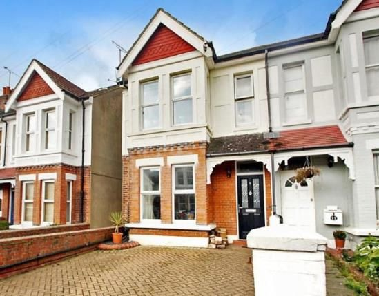 Thumbnail End terrace house for sale in Woodlea Road, Worthing, West Sussex