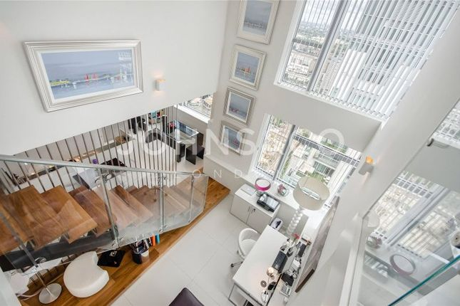 Thumbnail Flat for sale in Pan Peninsula, East Tower, Canary Wharf, London