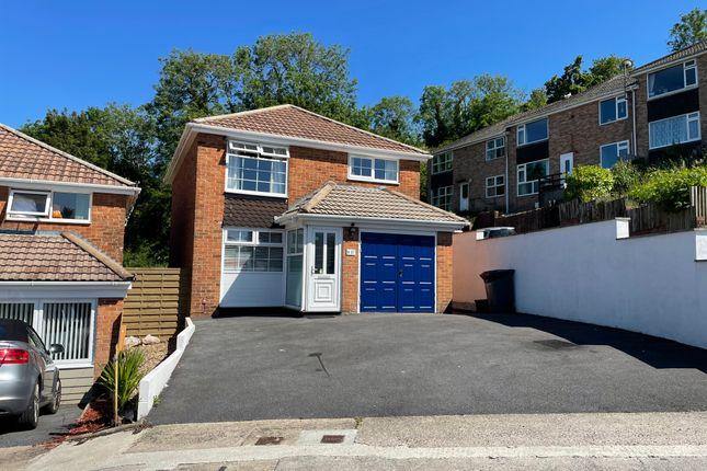 Detached house for sale in Harbourne Avenue, Roselands, Paignton