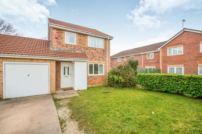 Thumbnail Link-detached house for sale in Hornchurch Close, Llandaff, Cardiff