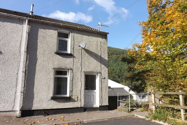 Thumbnail Semi-detached house to rent in Canal Terrace, Abercarn, Newport