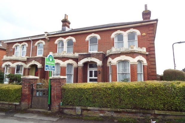 Thumbnail Property to rent in Alma Road, Southampton