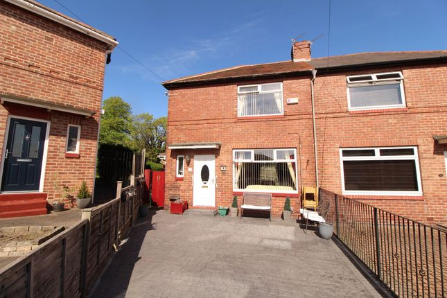 Thumbnail Semi-detached house for sale in Heyburn Gardens, Benwell, Newcastle Upon Tyne