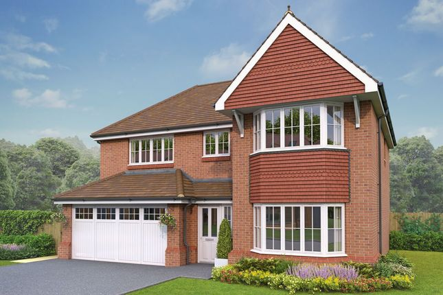 Thumbnail Detached house for sale in Holmes Chapel Road, Congleton, Cheshire