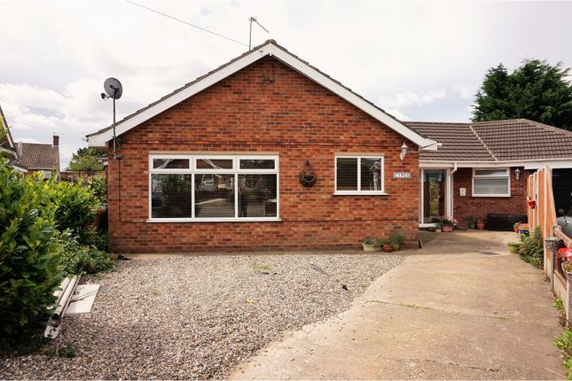 Thumbnail Detached bungalow for sale in The Close, Great Yarmouth