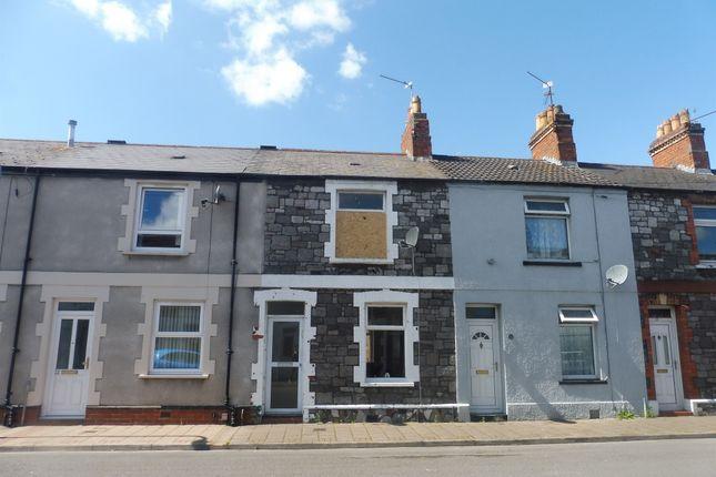 1 bed terraced house for sale in Kilcattan Street, Splott, Cardiff