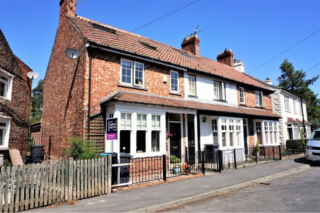 Thumbnail End terrace house for sale in Enterpen, Hutton Rudby, Yarm