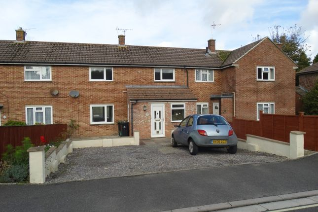 Thumbnail Terraced house to rent in Wessex Road, Dorchester