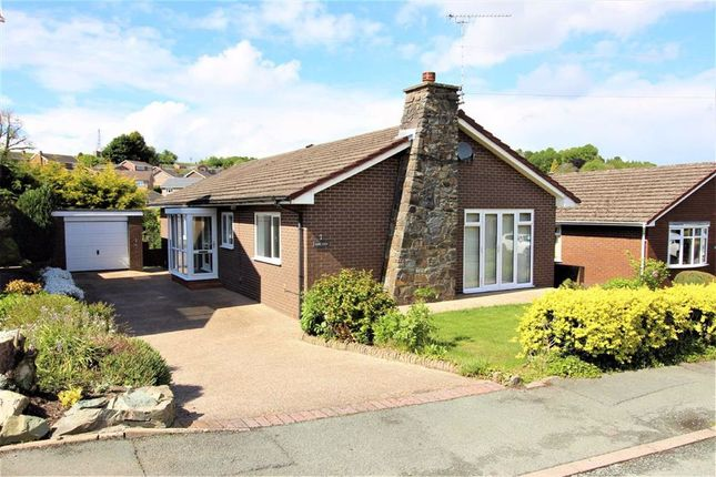 Thumbnail Bungalow for sale in Hope View, Brookfield Road, Welshpool, Powys