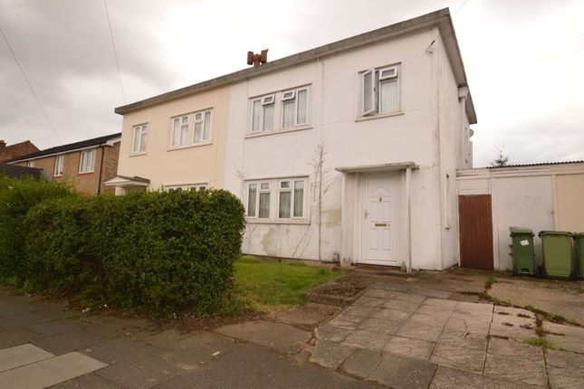 3 bed semi-detached house for sale in Birling Road, Erith