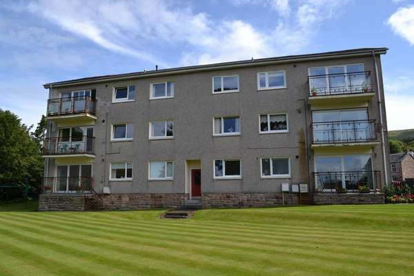 Thumbnail Flat for sale in 8 Fairlieburne Flats, Fairlie, Largs