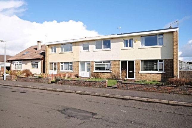 Thumbnail Terraced house for sale in Bellrock Avenue, Prestwick