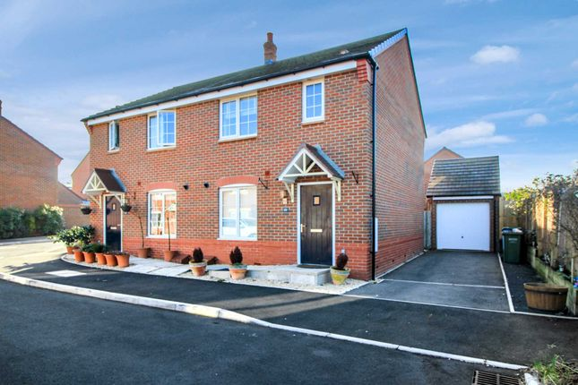 Thumbnail Semi-detached house for sale in Banks Road, Badsey, Evesham