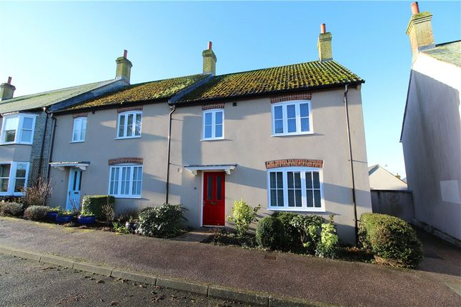 Thumbnail End terrace house for sale in Coombefield Lane, Axminster, Devon