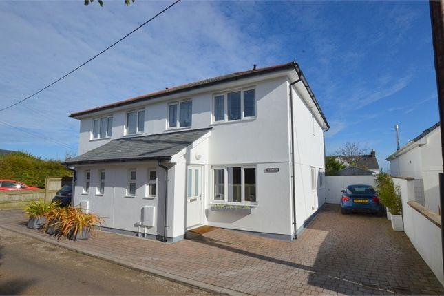 Thumbnail Semi-detached house for sale in Fuggoe Lane, Carbis Bay, St. Ives