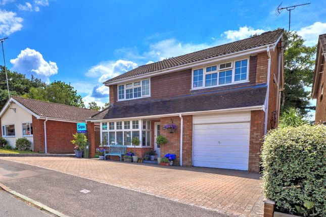 Thumbnail Detached house for sale in Balliol Way, Owlsmoor, Sandhurst