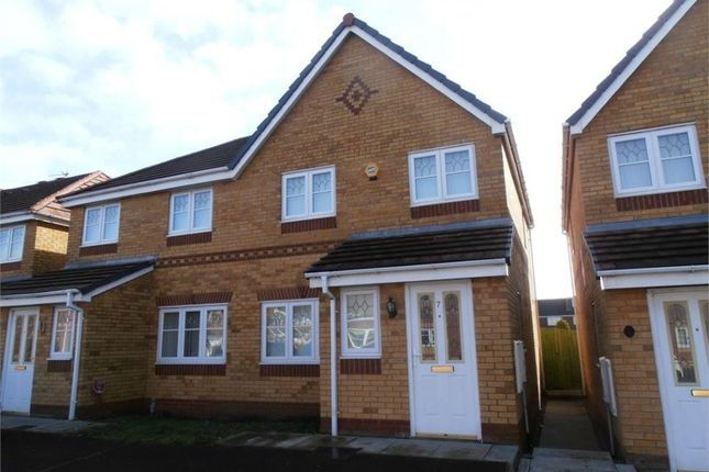 Thumbnail Semi-detached house to rent in Kendal Road, Kirkby, Liverpool