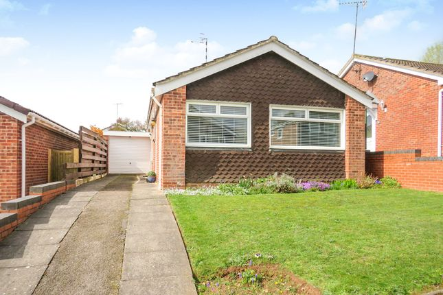 Thumbnail Detached bungalow for sale in Kites Close, Warwick