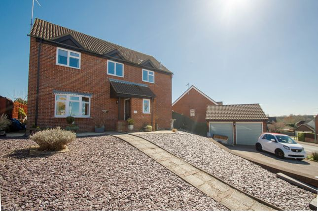 Thumbnail Detached house for sale in Tiberius Close, Haverhill