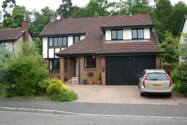 Thumbnail Detached house to rent in Menteith View, Dunblane