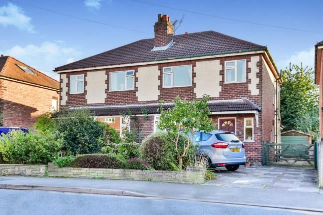 Thumbnail Semi-detached house for sale in Barlow Road, Wilmslow, Cheshire