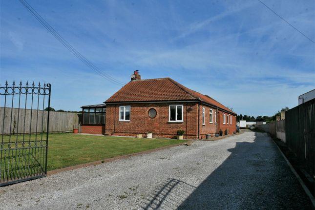 Thumbnail Detached bungalow for sale in York Road, Elvington, York