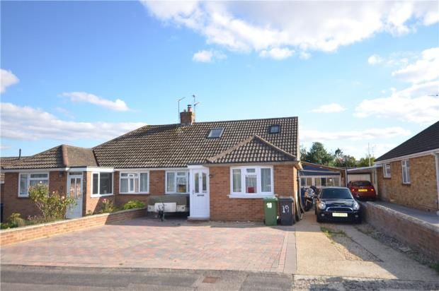 Thumbnail Semi-detached house for sale in Widmore Road, Basingstoke, Hampshire