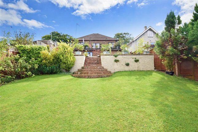 Thumbnail Detached bungalow for sale in Snodhurst Avenue, Walderslade, Chatham, Kent