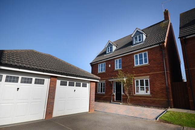Thumbnail Detached house for sale in Britannia Close, Winterbourne