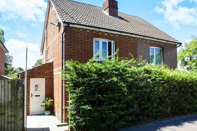Thumbnail Semi-detached house for sale in Main Road, Colden Common, Winchester