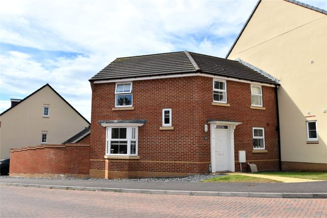 Thumbnail Semi-detached house to rent in Swallow Way, Cullompton, Devon