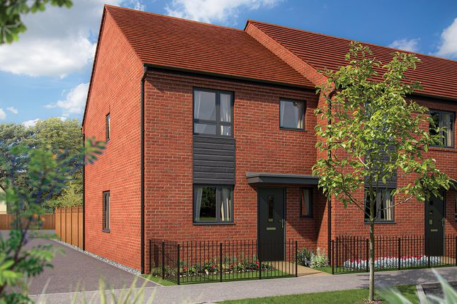 """Thumbnail Semi-detached house for sale in """"The Southwold"""" at Limousin Avenue, Whitehouse, Milton Keynes"""
